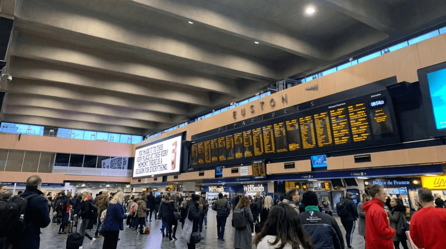Euston駅の写真
